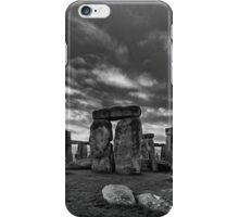Stonehenge Monochrome iPhone Case/Skin