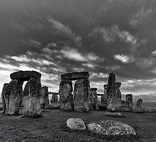 Stonehenge Monochrome by Quattrophoto