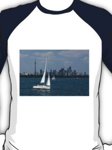 Summer Sailing Postcard from Toronto T-Shirt