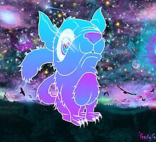 Space Cat by xGareBearx