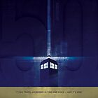 The Doctor's TARDIS by Daniel Fitzpatrick