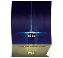 The Doctor's TARDIS Poster