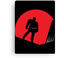 Jason Takes Gotham City Canvas Print