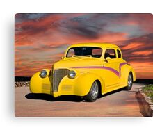 1939 Chevrolet Coupe Canvas Print