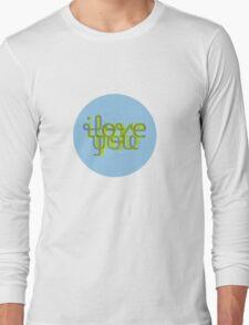 I love Y Long Sleeve T-Shirt