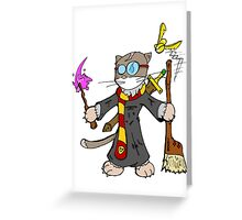 Chatrry Potter Greeting Card