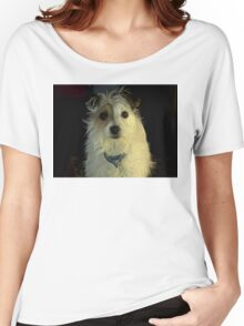 Portrait Of A Terrier Women's Relaxed Fit T-Shirt
