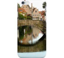 Brugge Means Bridge iPhone Case/Skin