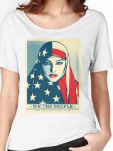 We the people are greater than fear Women's Relaxed Fit T-Shirt