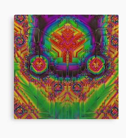 Dynamic Circuitry  Canvas Print