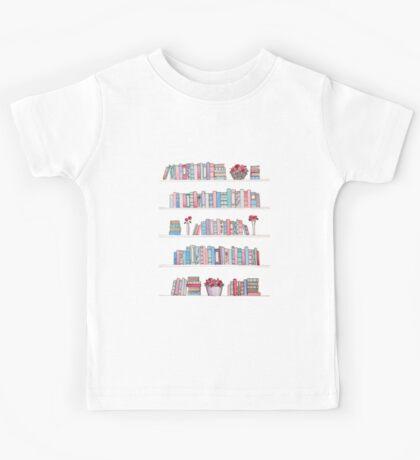 Springtime Bookcase Kids Tee