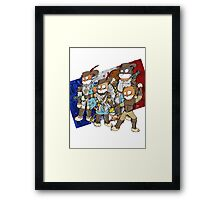 Mousquetaires Framed Print