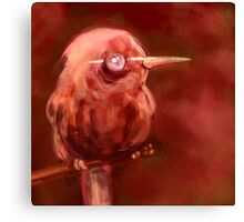 Red Birdie birdie Canvas Print