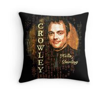 Hello, Darling Throw Pillow