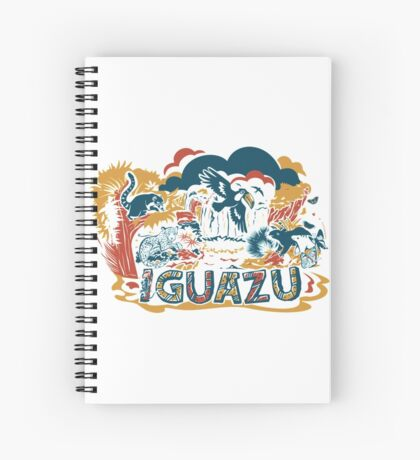 IGUAZU Spiral Notebook
