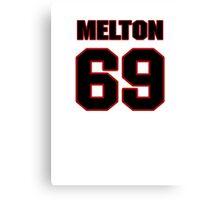 NFL Player Henry Melton sixtynine 69 Canvas Print