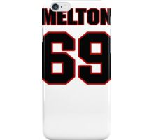 NFL Player Henry Melton sixtynine 69 iPhone Case/Skin