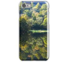 The magic of autumn at Rydal Water, English Lake District iPhone Case/Skin
