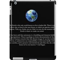 Peice of a Pale Blue Dot iPad Case/Skin
