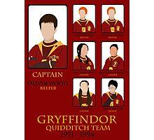 Gryffindor Quidditch Team 1991-1994 Photographic Print