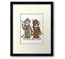 Chatrlock and catson Framed Print