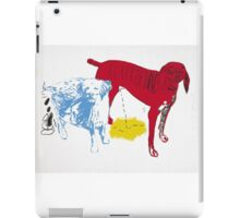 Untitled Two Dogs  iPad Case/Skin