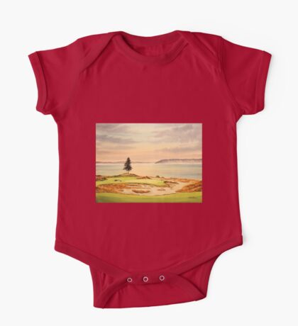 Chambers Bay Golf Course One Piece - Short Sleeve
