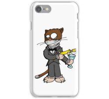 Zero zero cat iPhone Case/Skin