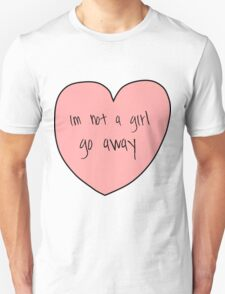 not a girl T-Shirt
