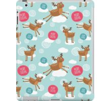 Christmas Deer iPad Case/Skin