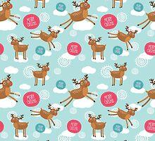 Christmas Deer by Anna Alekseeva