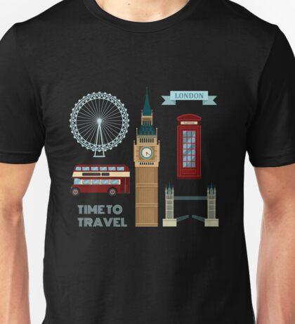 London Symbols Travel Time Set Unisex T-Shirt