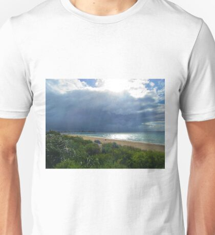 A Sudden Shift In The Weather Unisex T-Shirt
