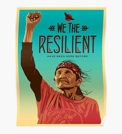 We The Resilient Poster