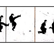 Ministry of silly walks by Tim Constable
