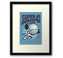 Super Paranoid Android 42 Framed Print