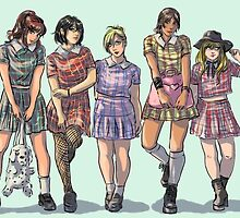 Snk girl group by noravannah