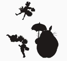 Ghibli Silhouettes (B) by Andrew Alcock