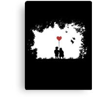 Love, Love, Love.... Canvas Print