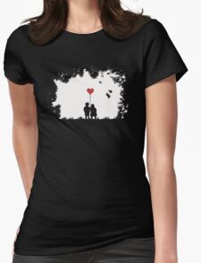 Love, Love, Love.... Womens Fitted T-Shirt