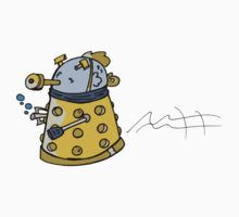fish dalek Kids Tee