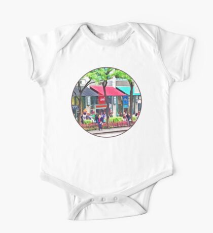 Chicago IL - Shopping Along Michigan Avenue One Piece - Short Sleeve