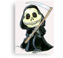 Not So Grim Reaper Canvas Print