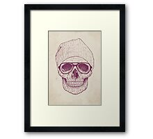 Cool skull Framed Print