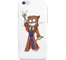 Doctor cat iPhone Case/Skin