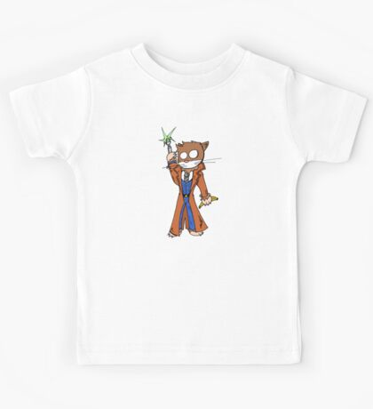 Doctor cat Kids Tee
