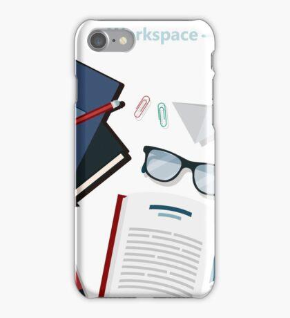 Modern Business Office Workspace iPhone Case/Skin