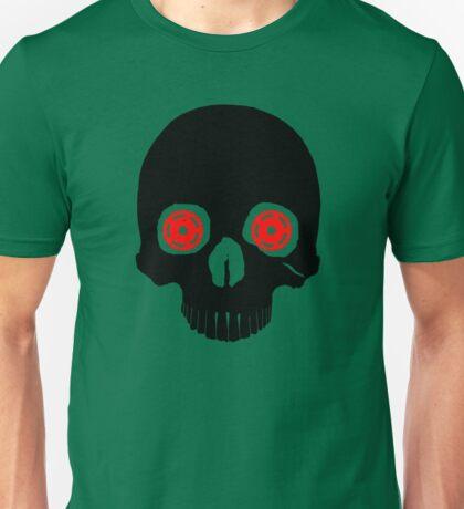 cycling t shirt - cycling skull Unisex T-Shirt