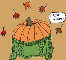 I love autumn by PatchworkApple