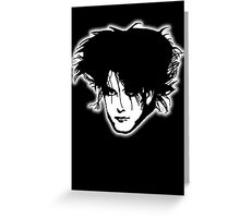 The Cure - Robert Smith Greeting Card